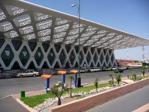 L'aéroport Menara de Marrakech (Maroc)
