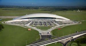 L'aéroport international de Carrasco (Uruguay)