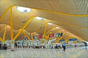 L'aéroport Barajas (Madrid)