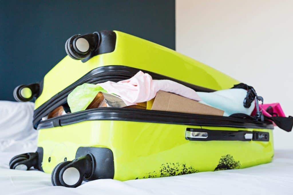 Faire sa valise pour partir en vacances