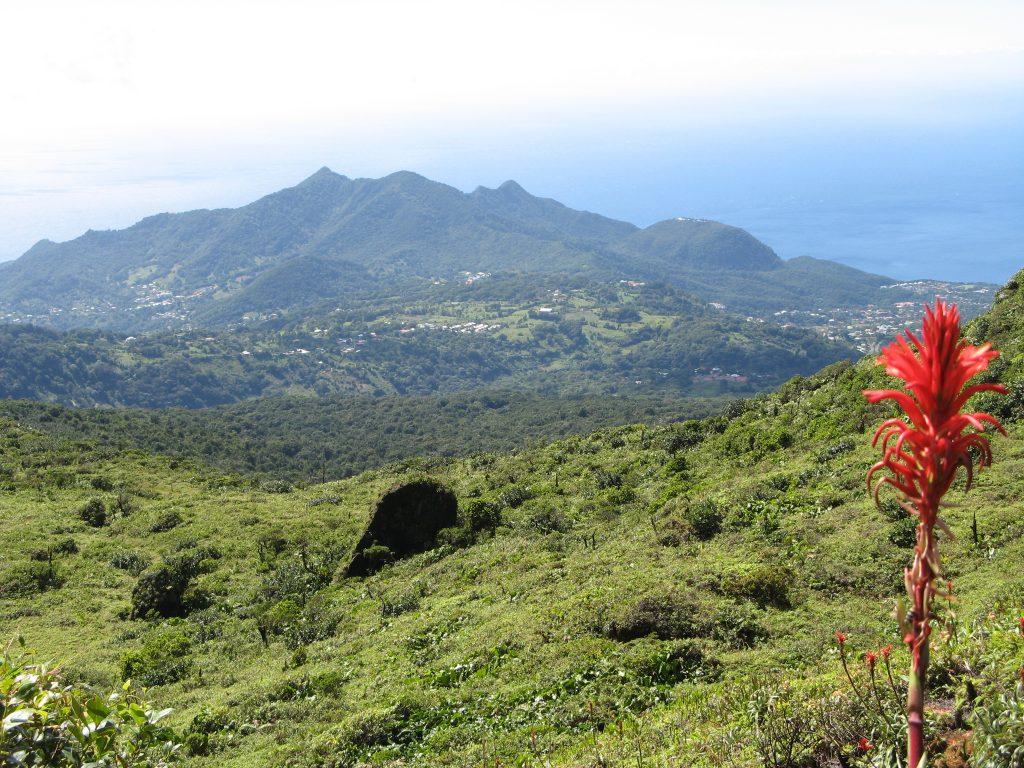 Randonner sur le volcan de la Soufrière